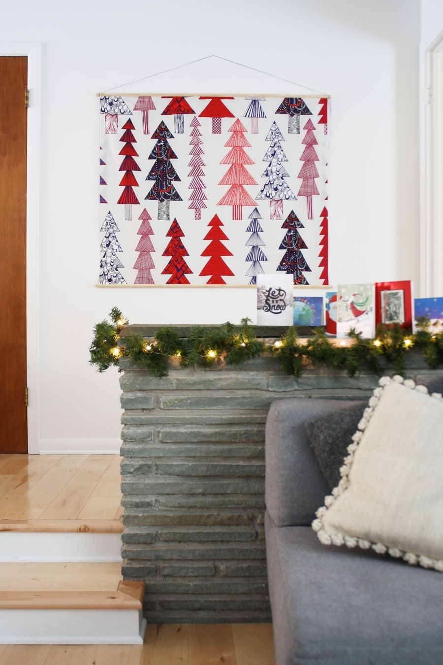 How To Make A Wooden Frame For A Diy Wall Tapestry. Mine Features Inside 2018 Marimekko Fabric Wall Art (Gallery 5 of 15)