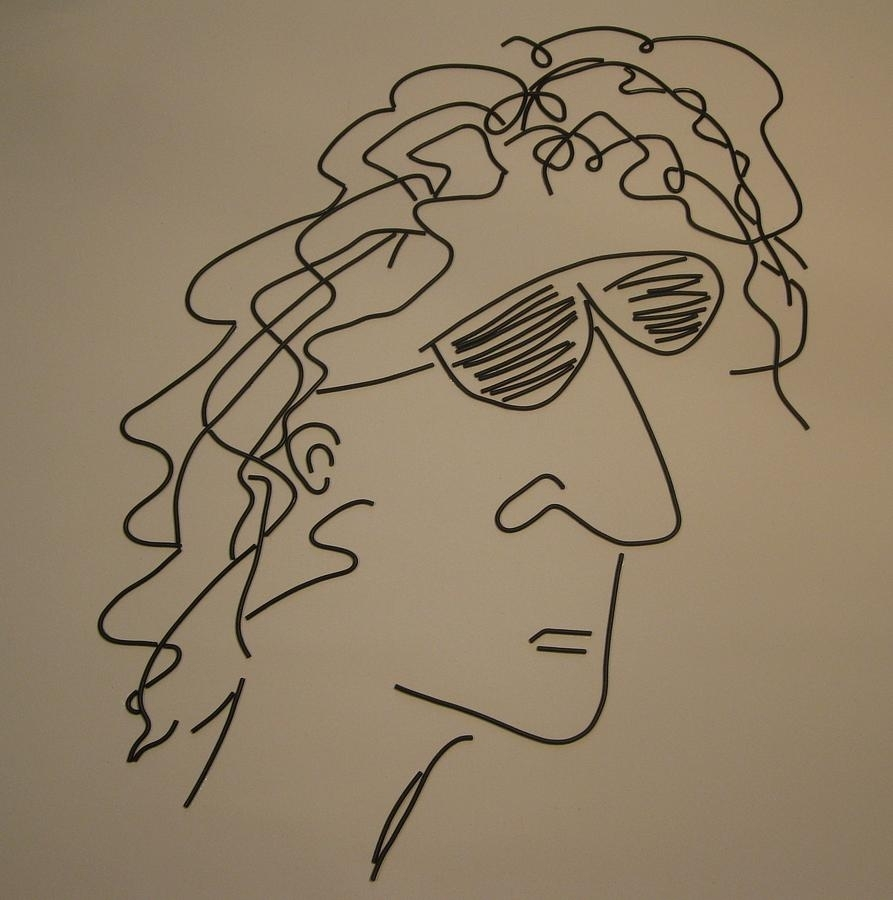 Howard Stern Mixed Mediapeter Virgancz Within 2018 Howard Stern Canvas Wall Art (Gallery 7 of 15)