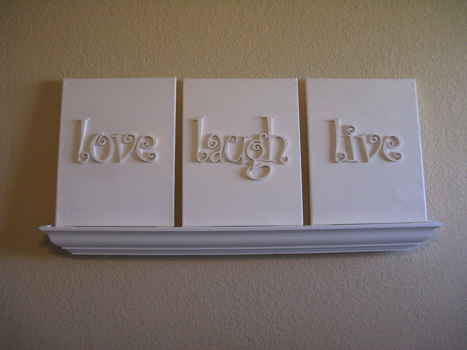 I Finished It Friday: Canvas Wall Art – Inspiration For Moms In Most Recently Released Love Canvas Wall Art (View 7 of 15)