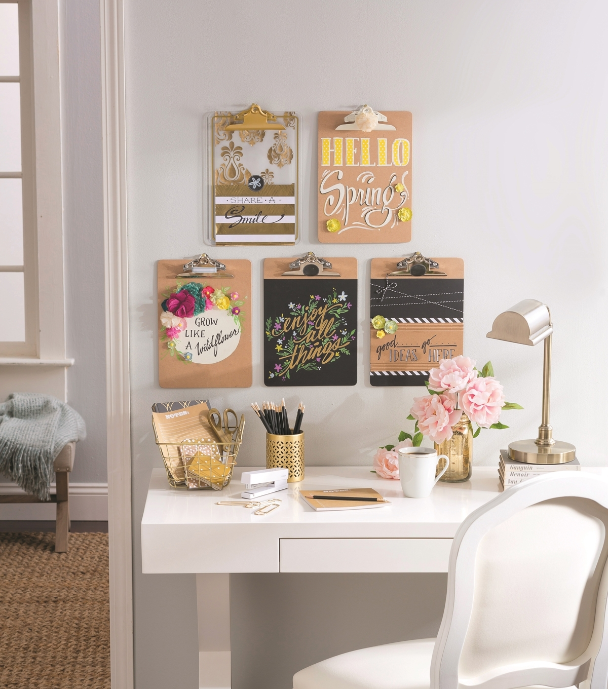 Idea Market Clipboard Wall Art | Joann Pertaining To Most Up To Date Joann Fabric Wall Art (Gallery 10 of 15)