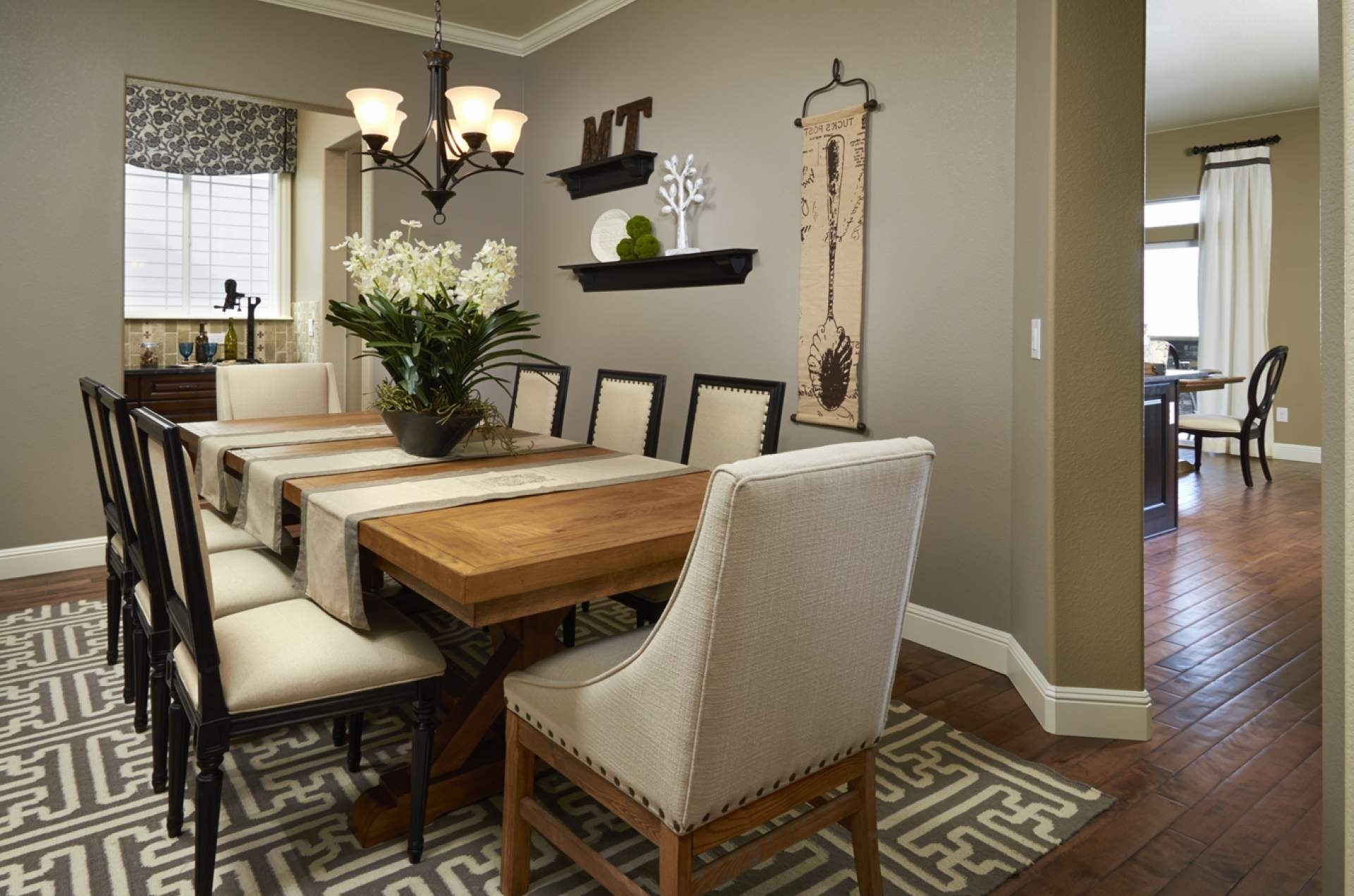 Ideas Dining Room Decor Home Enchanting Idea Dining Room Wall In Recent Dining Room Wall Accents (Gallery 1 of 15)