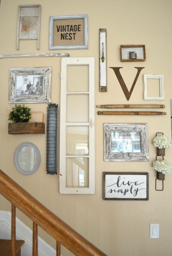 Ideas To Staircase Wall Decor | Home And Design Photo For For Current Staircase Wall Accents (View 7 of 15)