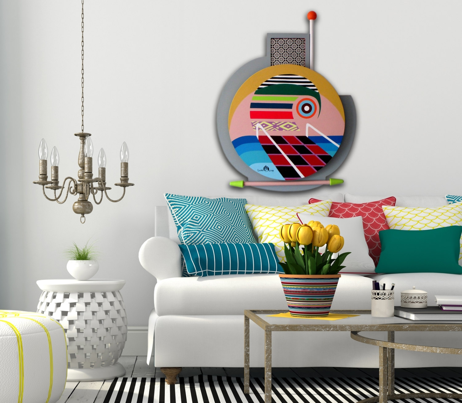 Ideas Unique Wall Decor — Radionigerialagos For Most Popular Unique Wall Accents (View 5 of 15)