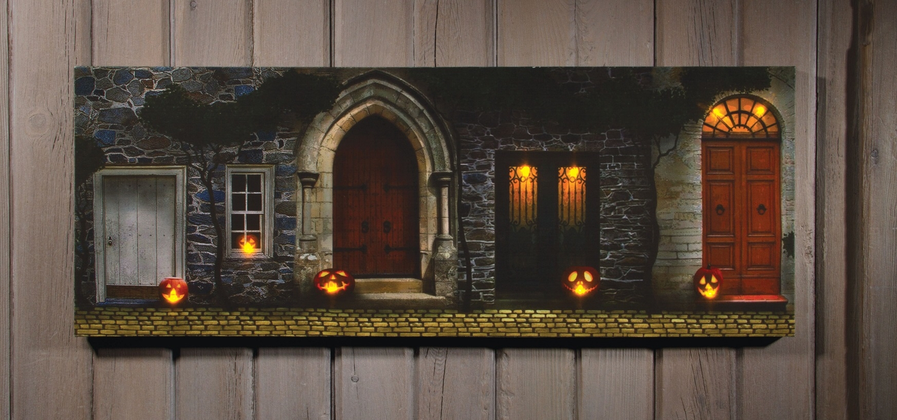 Image From Http://ep.yimg/ay/yhst 16633577946644/radiance With Regard To 2017 Halloween Led Canvas Wall Art (Gallery 3 of 15)