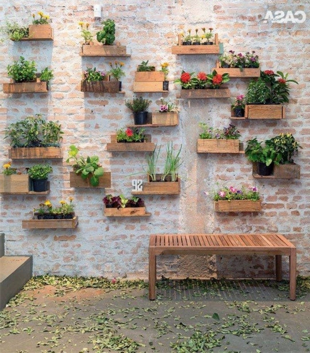 Incredible Garden Wall Decoration Ideas Picture Of Popular And In Best And Newest Garden Wall Accents (Gallery 6 of 15)