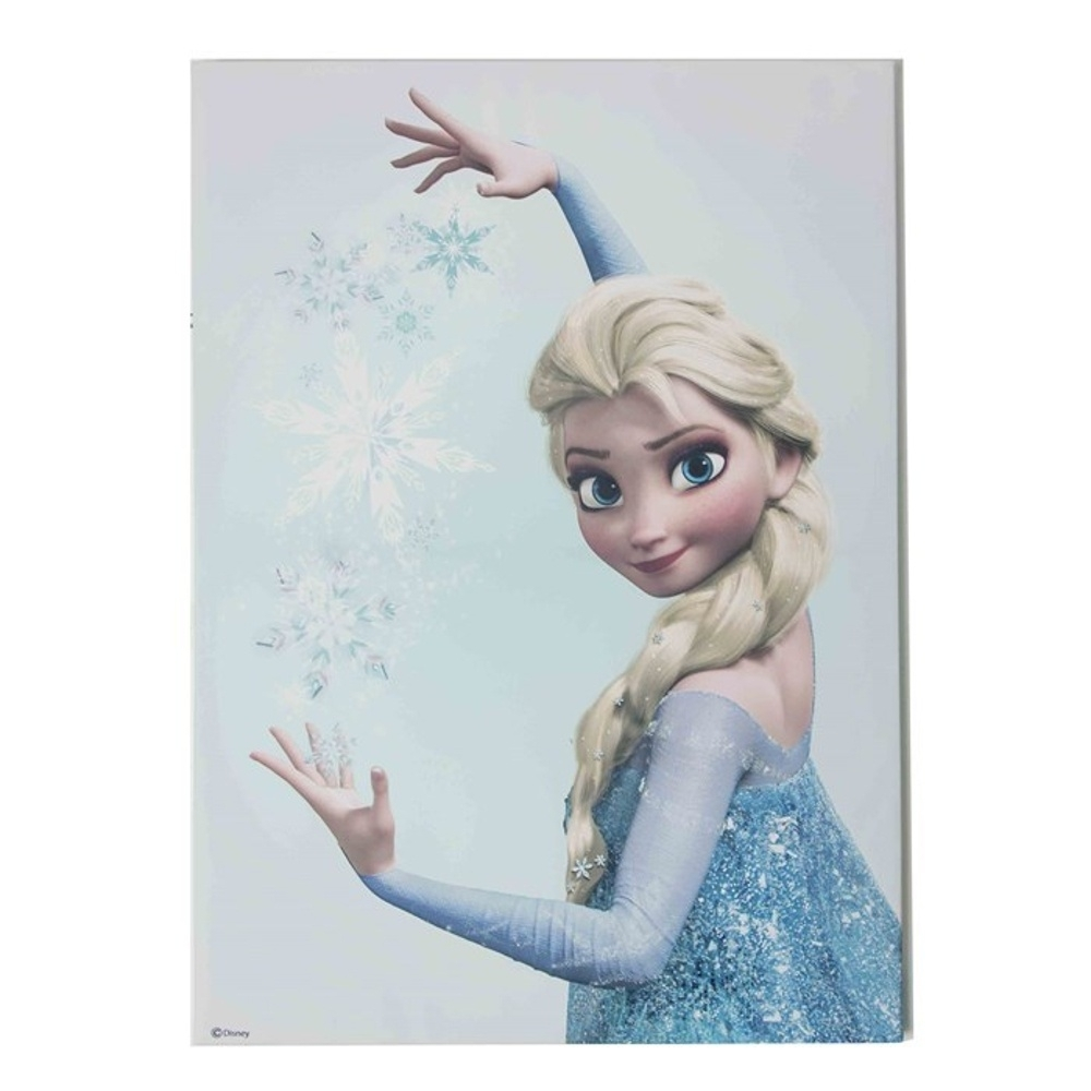 Interesting 10+ Frozen Wall Art Decorating Inspiration Of Frozen Pertaining To Latest Elsa Canvas Wall Art (Gallery 1 of 15)