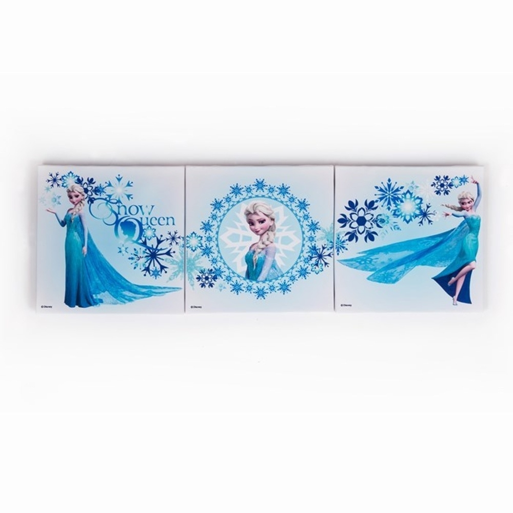 Interesting 10+ Frozen Wall Art Decorating Inspiration Of Frozen Pertaining To Most Recent Elsa Canvas Wall Art (Gallery 3 of 15)