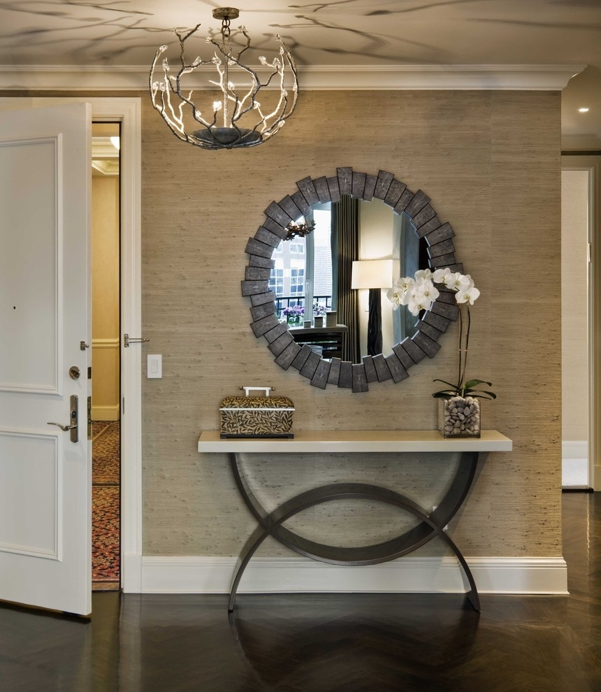 Interior | Photo Gallery Idea Entryway Wall Decor – Entryway With Regard To Most Popular Entrance Wall Accents (View 14 of 15)