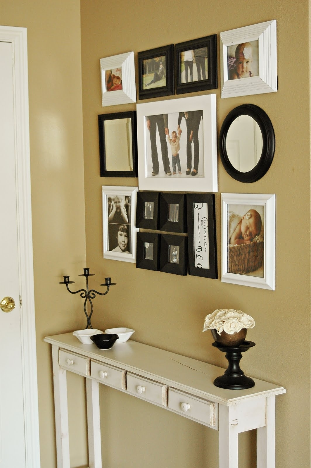 Interior | Photo Gallery Idea Entryway Wall Decor – Entryway With Regard To Recent Entrance Wall Accents (Gallery 6 of 15)