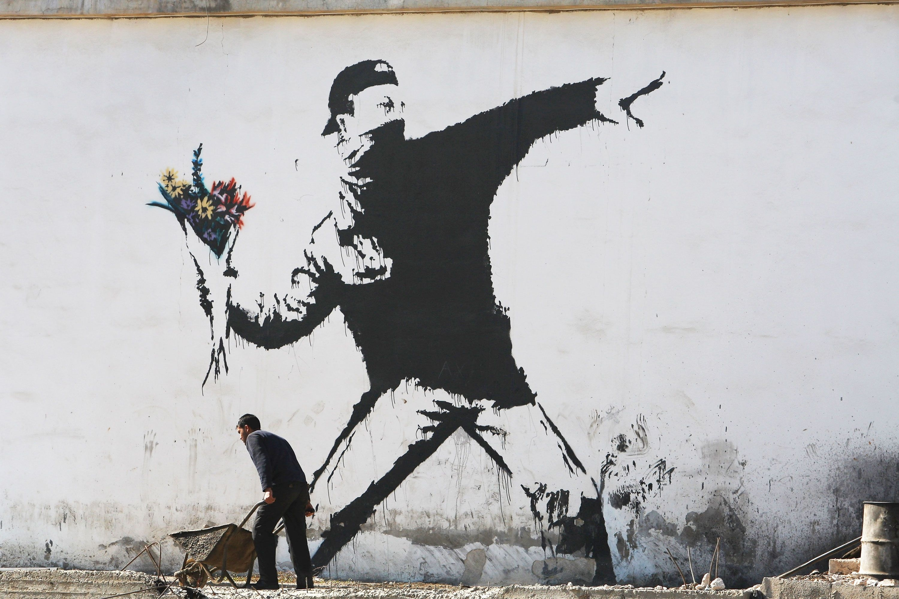 Is This The True Identity Of Banksy? | 4 Arts Sake | Pinterest With Regard To 2017 Howard Stern Canvas Wall Art (View 12 of 15)