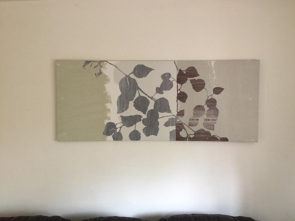 John Lewis Wall Art Canvas | In Bramhall, Manchester | Gumtree For 2018 John Lewis Canvas Wall Art (Gallery 1 of 15)