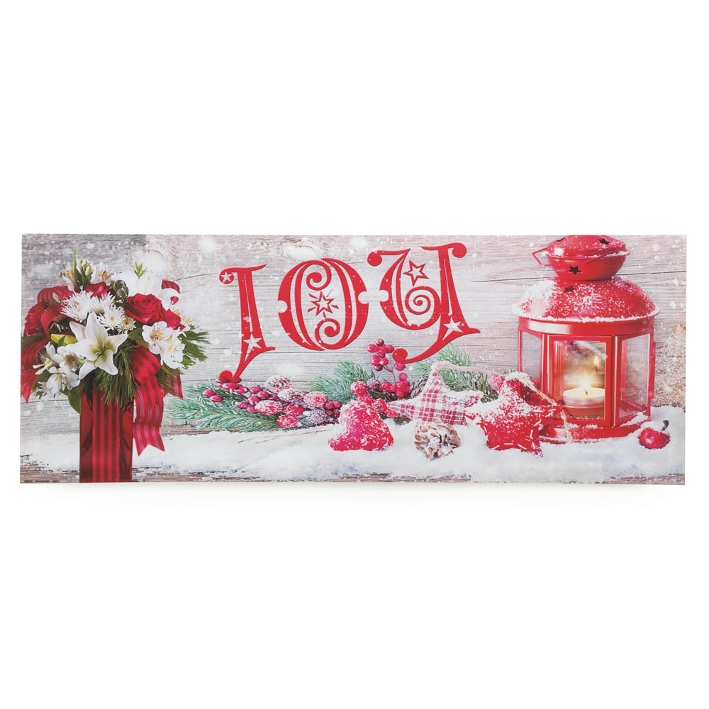 Joy Led Wall Art Wholesale At Eastwind Wholesale Gift Distributors With Current Joy Canvas Wall Art (View 12 of 15)