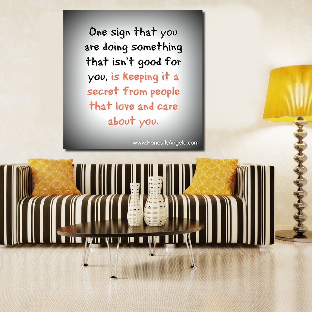 Jqhyart Funny Quotes About Lifes Little Frustrations Canvas Wall Pertaining To Most Recently Released Canvas Wall Art Funny Quotes (View 7 of 15)