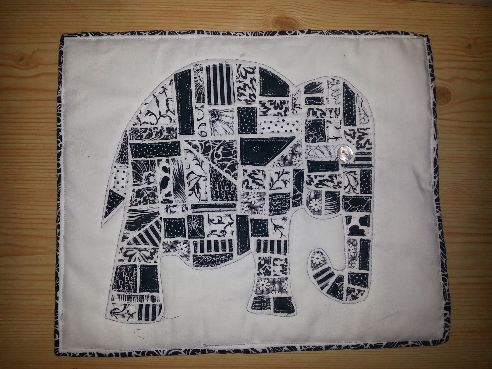Juna Creations Uk: Ticker Tape Elephant Wall Hanging For 2017 Elephant Fabric Wall Art (Gallery 15 of 15)