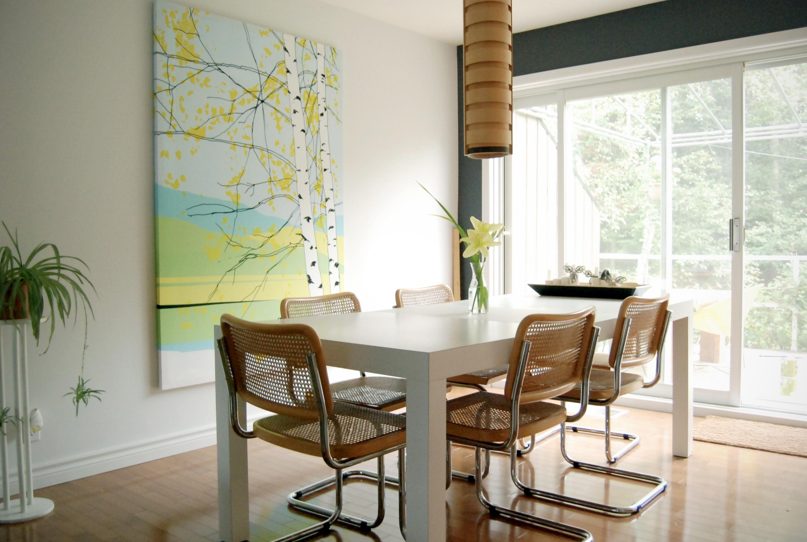 Kaiku Marimekko Fabric Stretched Over Canvas. Find The Fabric At with regard to 2017 Marimekko Fabric Wall Art