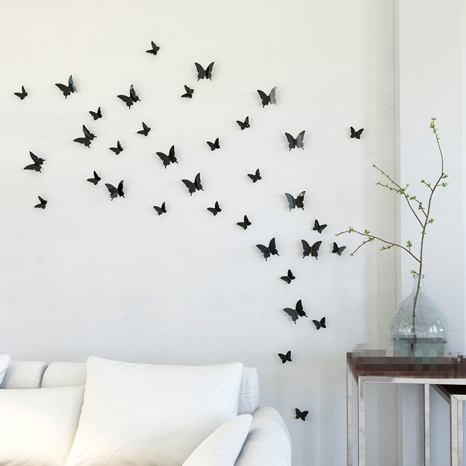Keep Your Home Closer To Nature With Butterfly Wall Decor Wall Throughout Newest Removable Wall Accents (View 11 of 15)