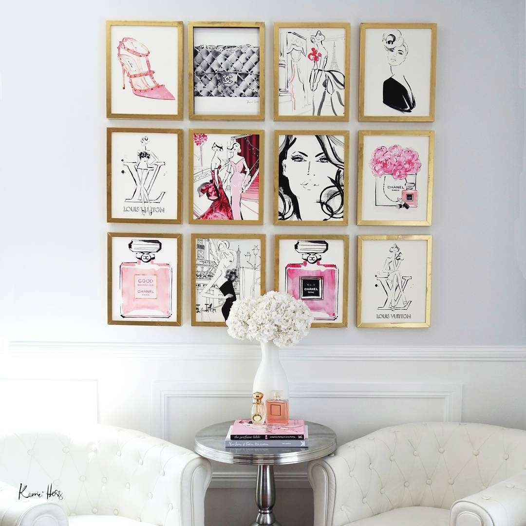 "Kerrie Hess Illustrator On Instagram: ""You Know You Love Your Job Inside Recent Frames Wall Accents (View 10 of 15)"