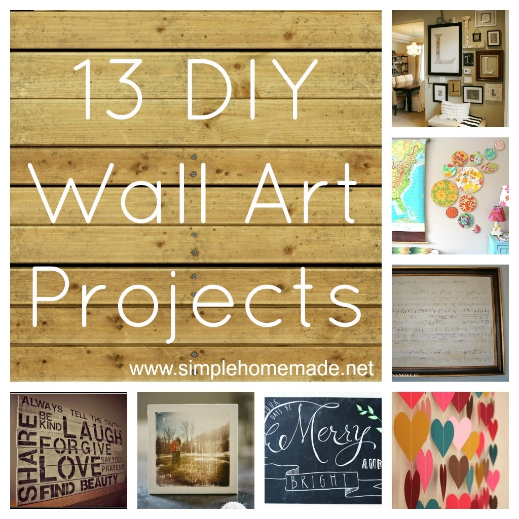 Kitchen : Cool Rustic Kitchen Wall Decor Ideas Country Diy Rustic Throughout Most Recent Diy Wall Accents (Gallery 14 of 15)