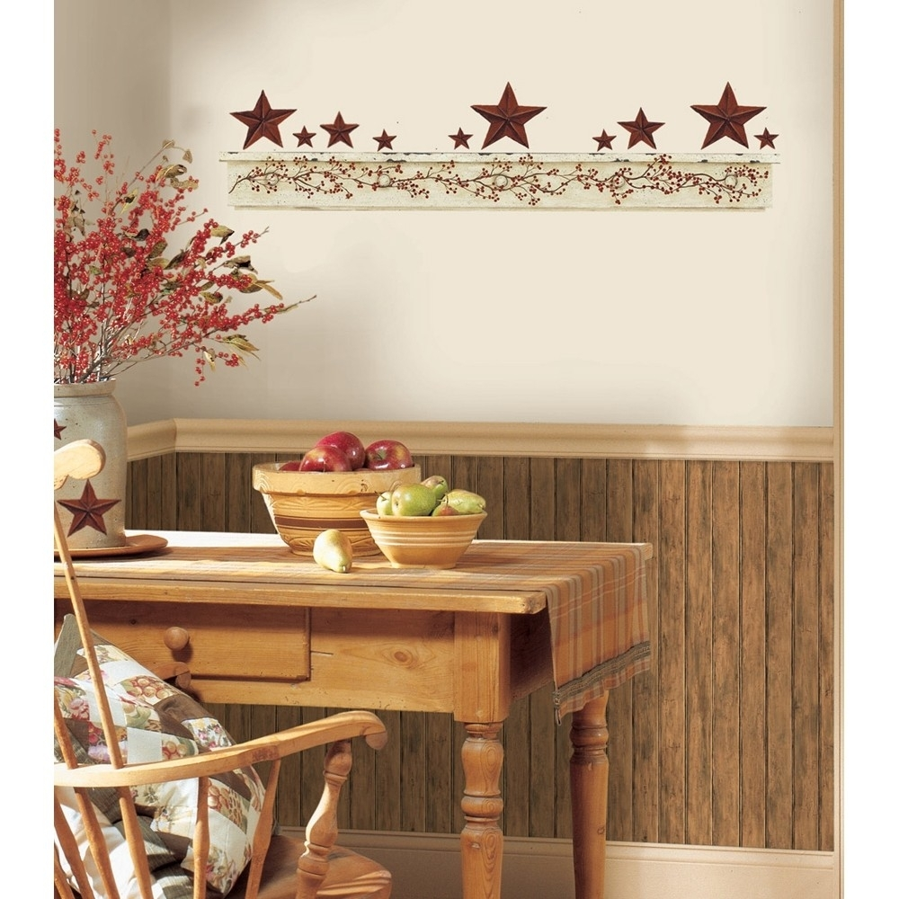 Kitchen : Kitchen Country Wall Decor French Country Kitchen Wall With Recent Wall Accents For Kitchen (View 8 of 15)