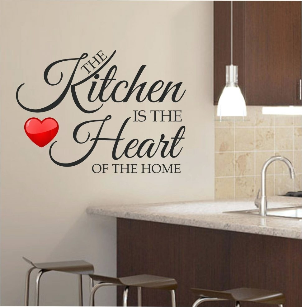 Kitchen : Wall Arts Wooden Decor With Quotes Metal Art Kitchen In Most Current Amazon Wall Accents (View 9 of 15)