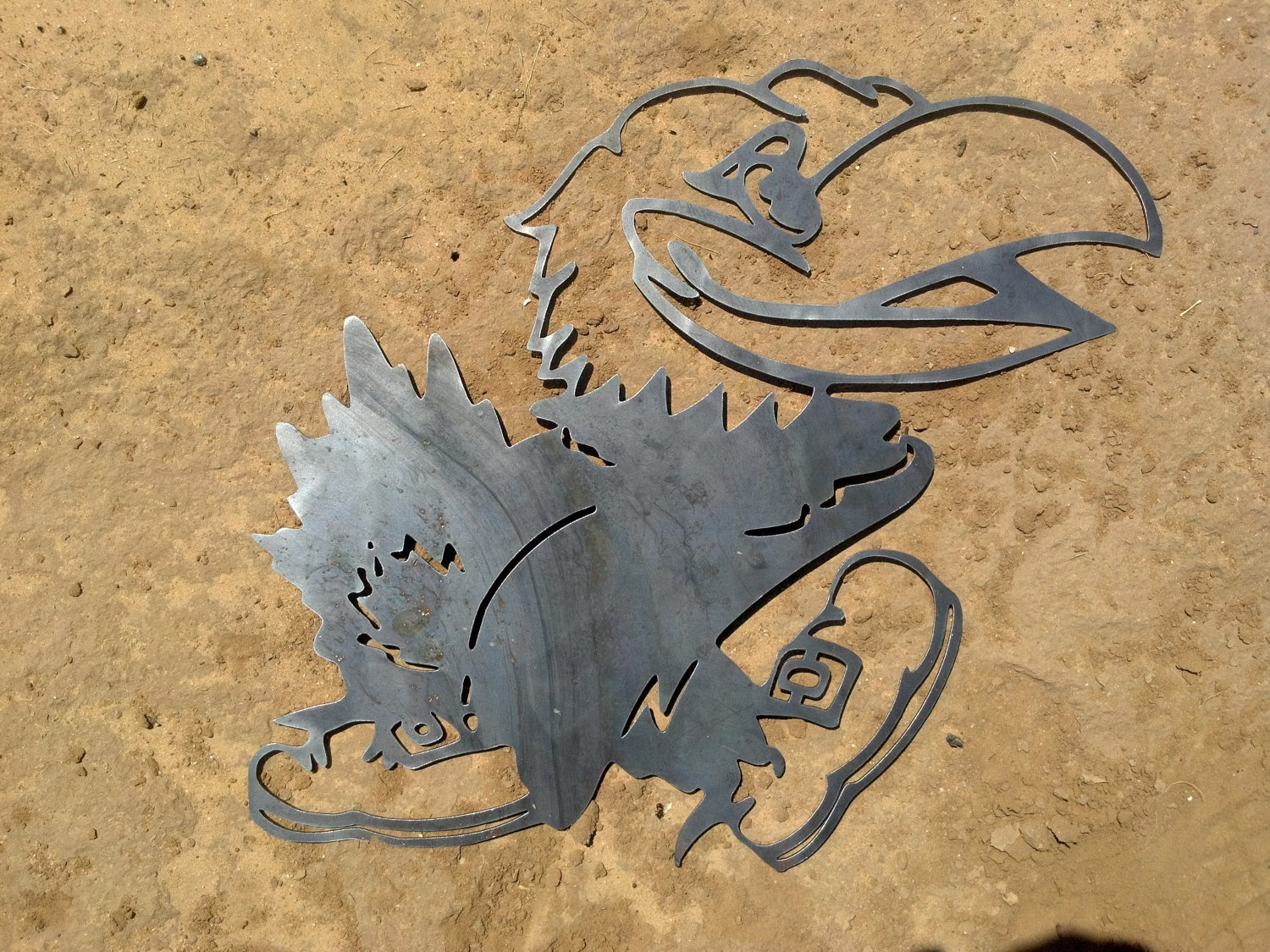 Ku Jayhawk Metal Decor. $40.00, Via Etsy (View 10 of 15)