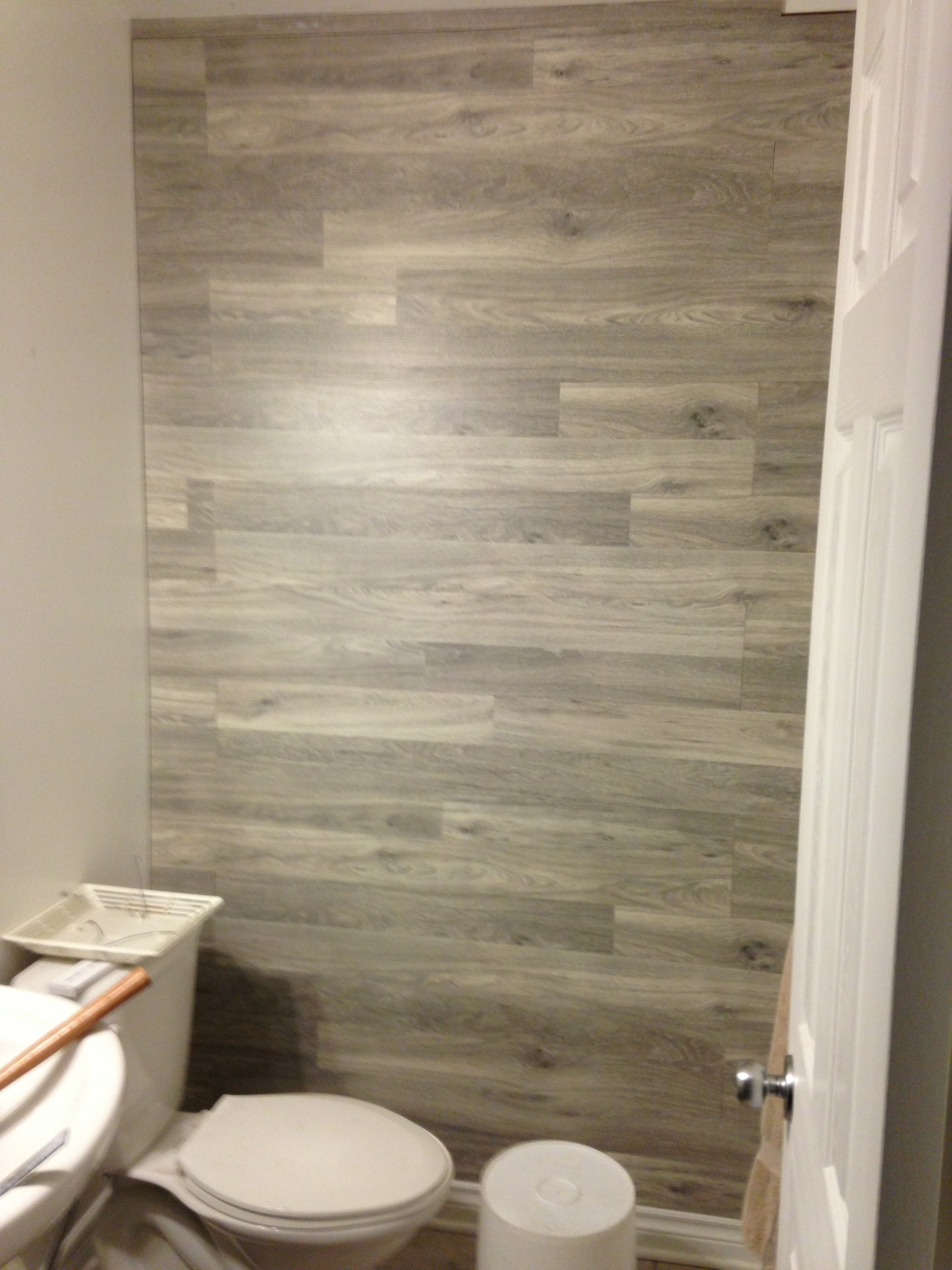 Laminate Flooring On Accent Wall Inside Recent Wall Accents With Laminate Flooring (Gallery 8 of 15)