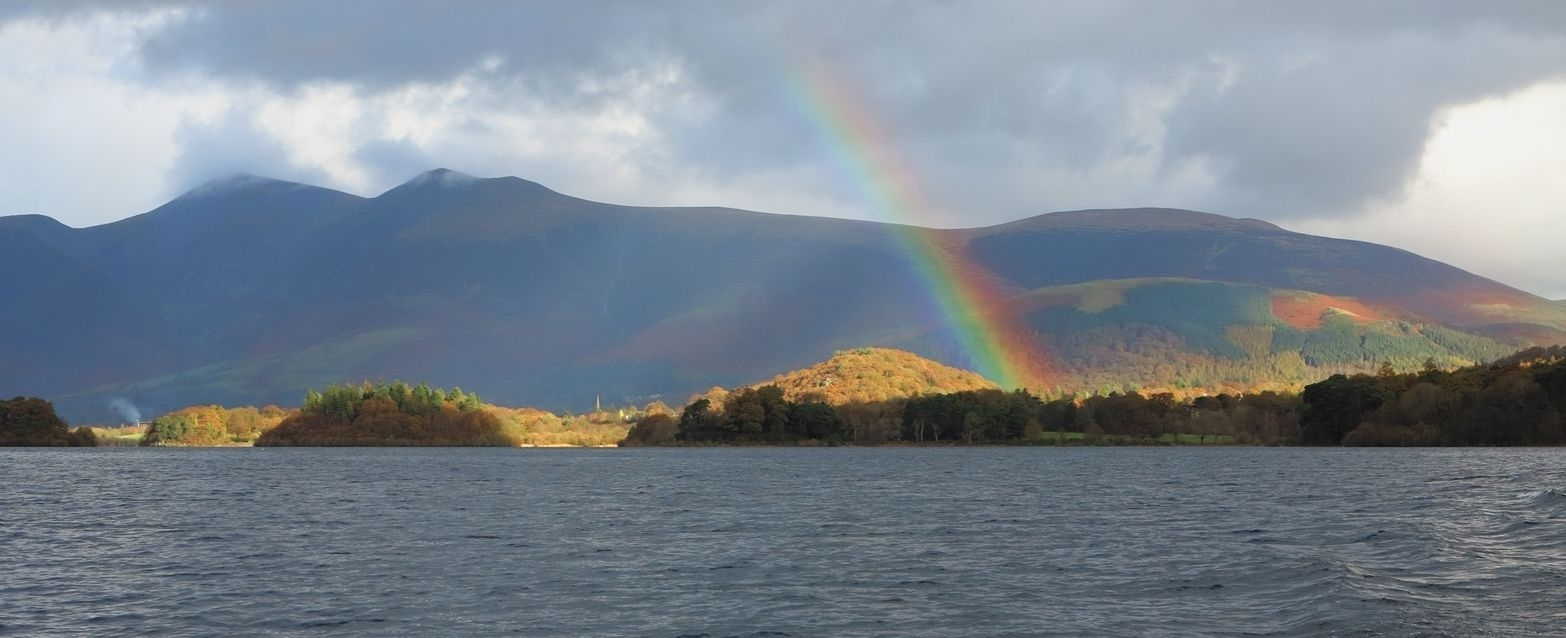 Landscape Canvas Framed Wall Art – Lake District Rainbow For Most Current Lake District Canvas Wall Art (View 11 of 15)