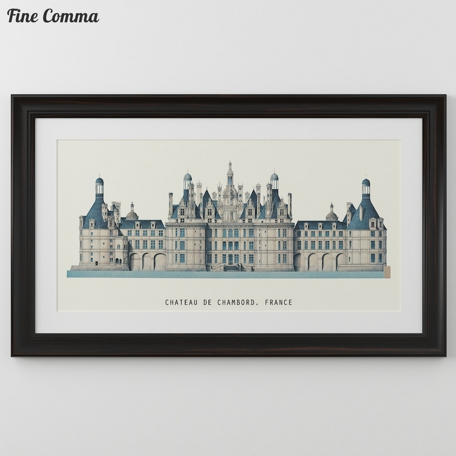 Large Size Famous Architectures Prints In Europe Rome Florence inside Newest Famous Art Framed Prints