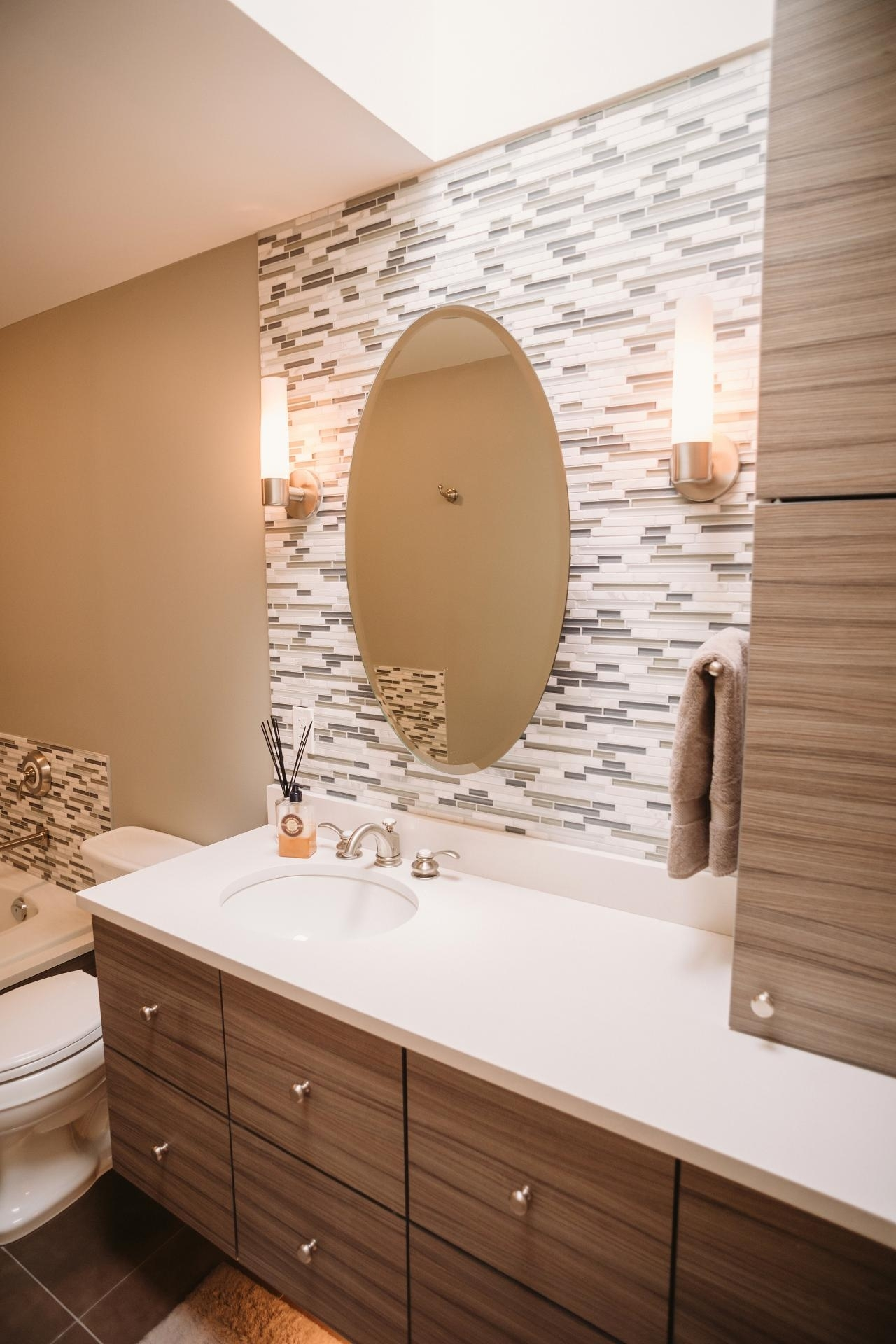 Latest Posts Under: Bathroom Accent Wall | Bathroom Design 2017 With Regard To Recent Wall Accents For Bathroom (Gallery 4 of 15)