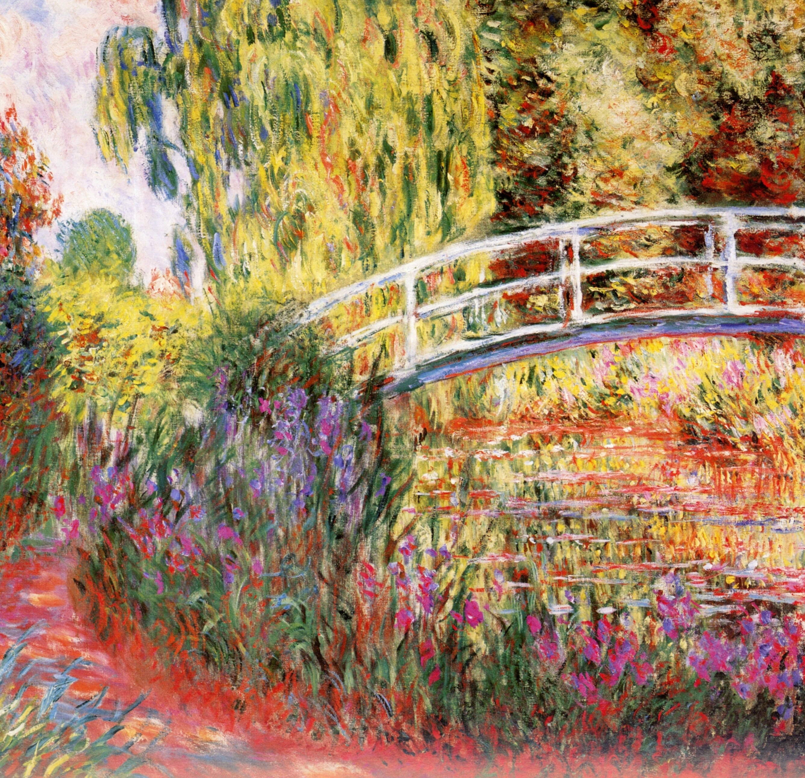 Le Bassin Aux Nymphéas | Monet | Pinterest | Monet, Impressionism With Current Monet Canvas Wall Art (View 6 of 15)