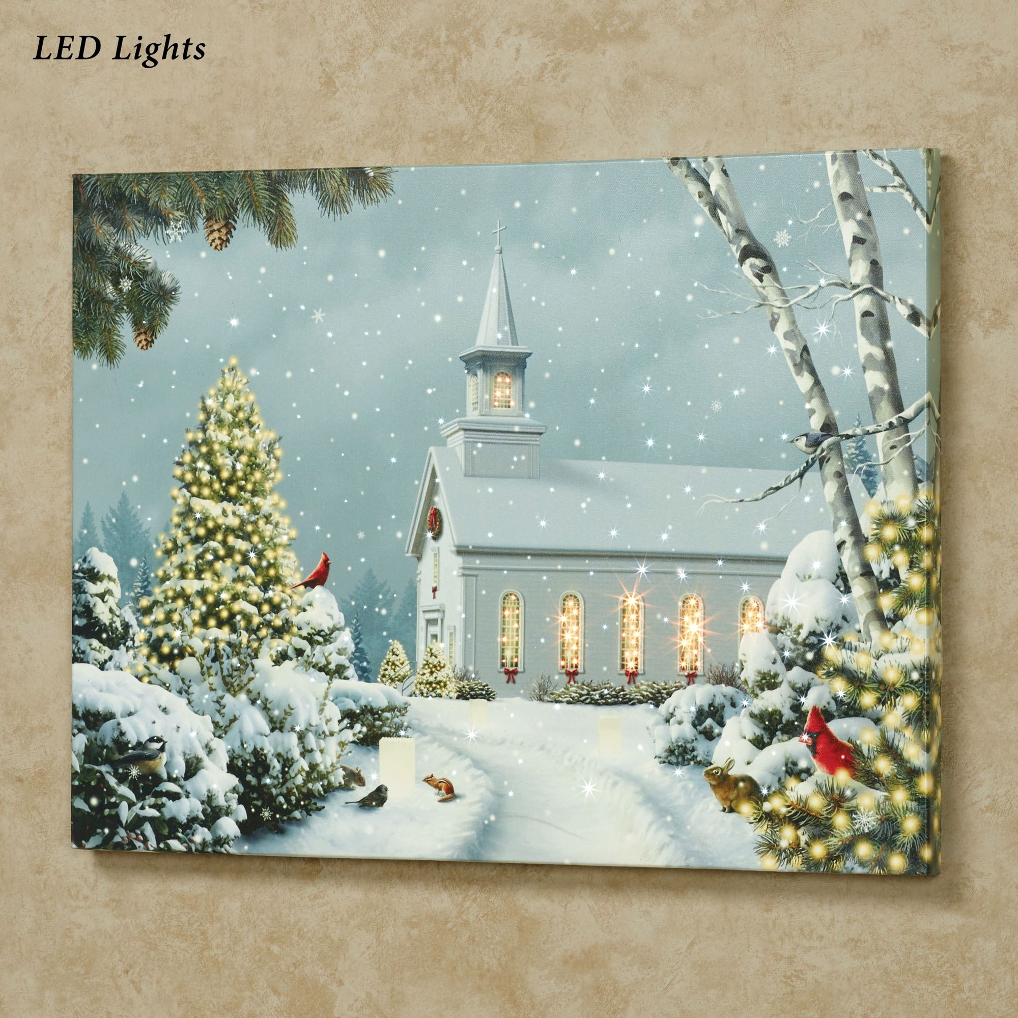 Led Lighted Wall Canvas – Oregonuforeview Throughout Most Recent Lighted Canvas Wall Art (View 5 of 15)