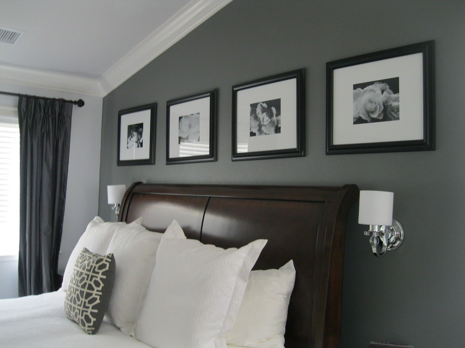 Legendary Gray – Dunn Edward. I Like The Grey Accent Wall With Throughout Best And Newest Grey And White Wall Accents (Gallery 11 of 15)