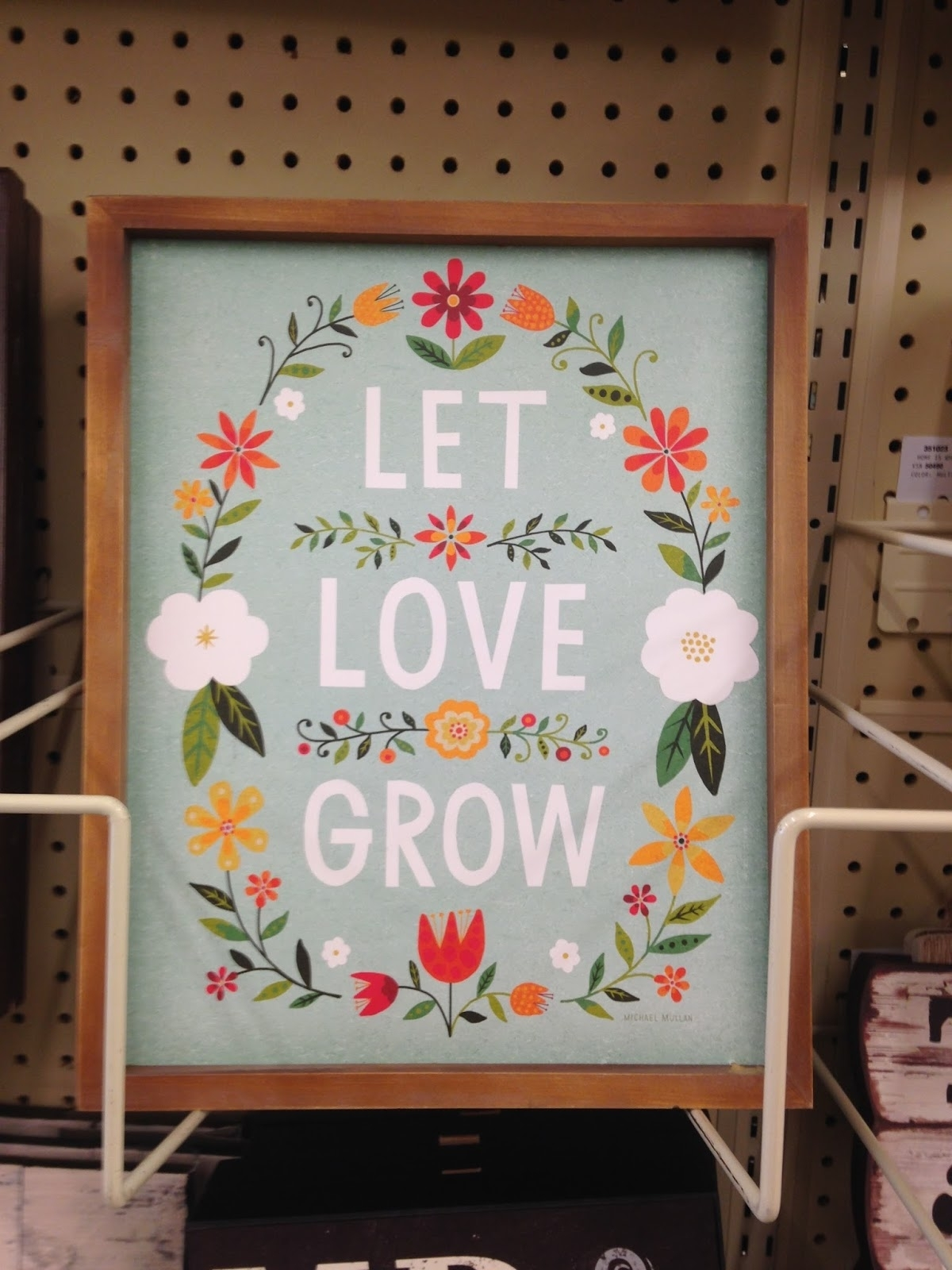 Let's Go Shopping} Pier One, Joann Fabrics, Homegoods And Hobby Regarding Recent Joann Fabric Wall Art (View 10 of 15)