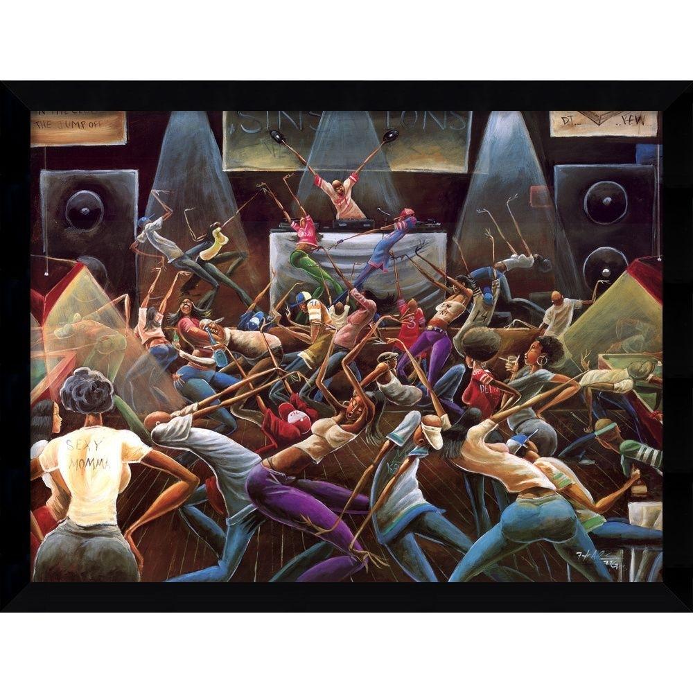 Li>artist: Frank Morrison</li> <li>title: Jump Off</li> <li In 2018 Framed African American Art Prints (View 10 of 15)