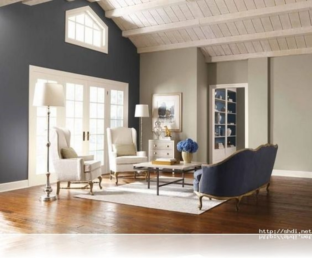 Living Room : Accent Walls Living Room Rounded Corners Wall Ideas Within Most Up To Date Wall Colors And Accents (View 9 of 15)