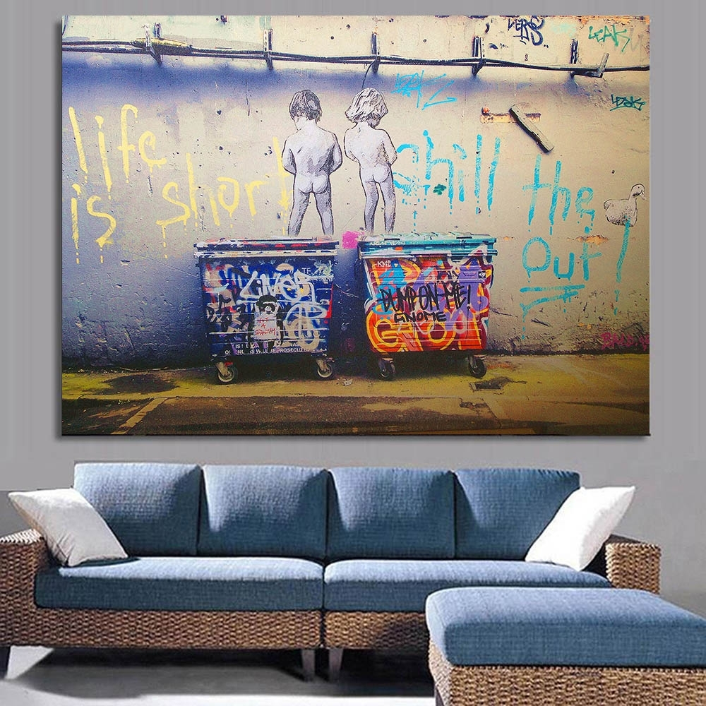 Living Room: Built In Wall Units For Living Rooms Built In Storage with regard to Latest Mississauga Canvas Wall Art