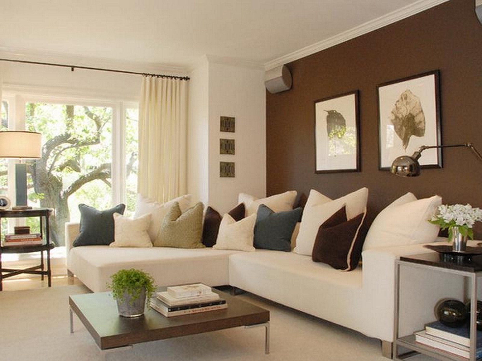 Living Room Paint Colors Small Color Ideas Schemes Wall Accent For Intended For Most Recent Wall Accents Color Combinations (View 5 of 15)