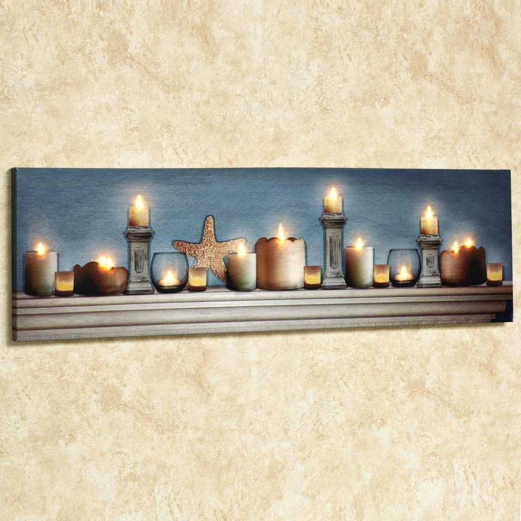 Featured Photo of Lighted Canvas Wall Art