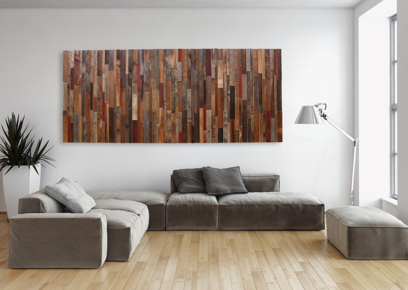 Long Horizontal Wall Decor Master Bedroom Wall Decor Ideas Blank intended for 2017 Wall Accents With Laminate Flooring