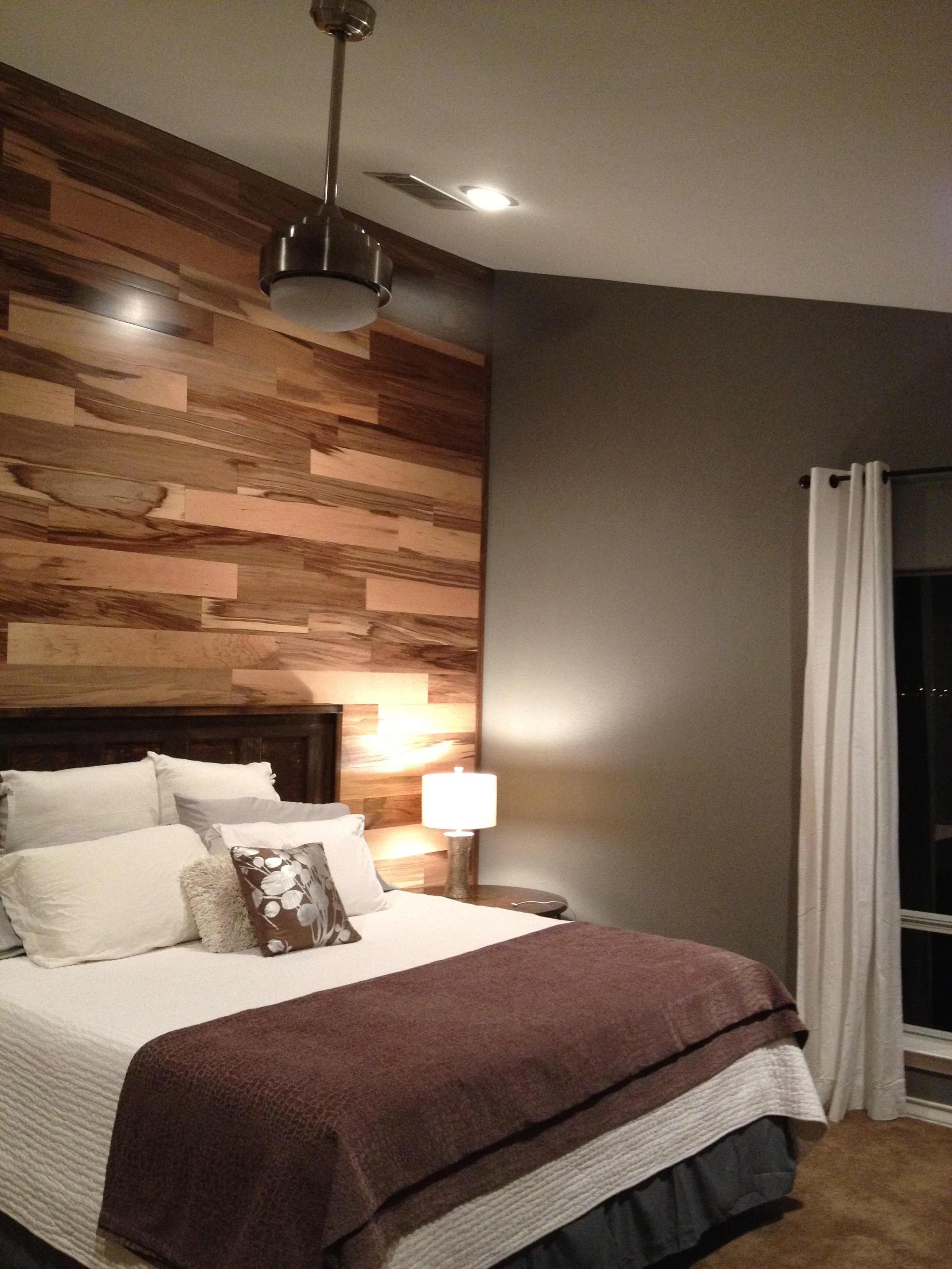 Love The Floor On The Wall! | Decorating | Pinterest | Walls With Most Popular Wall Accents With Laminate Flooring (View 12 of 15)