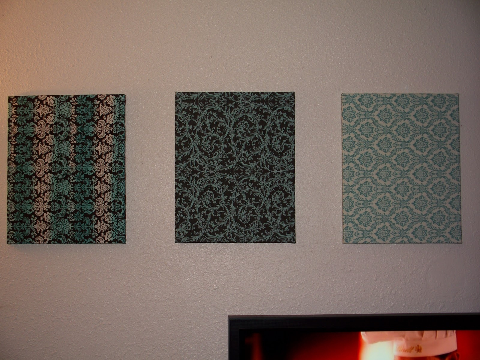 Lulu & Sweet Pea: Wall Hangings, Another Finished Quilt, & Late Inside 2017 Inexpensive Fabric Wall Art (Gallery 5 of 15)