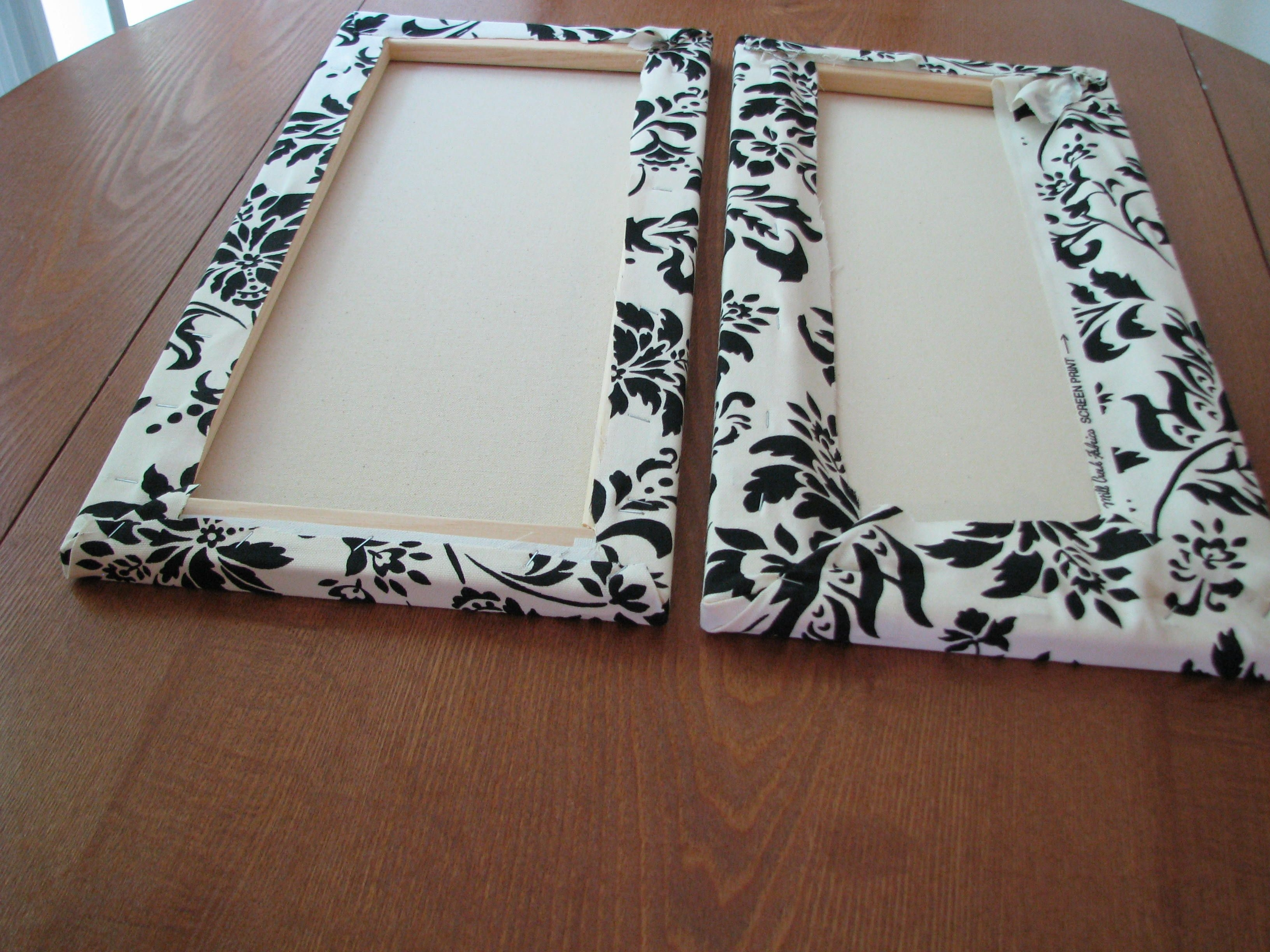 Make Your Own Canvas Wall Hangings | Diy Wall Art, Cork Boards And Pertaining To Newest Cheap Fabric Wall Art (View 11 of 15)