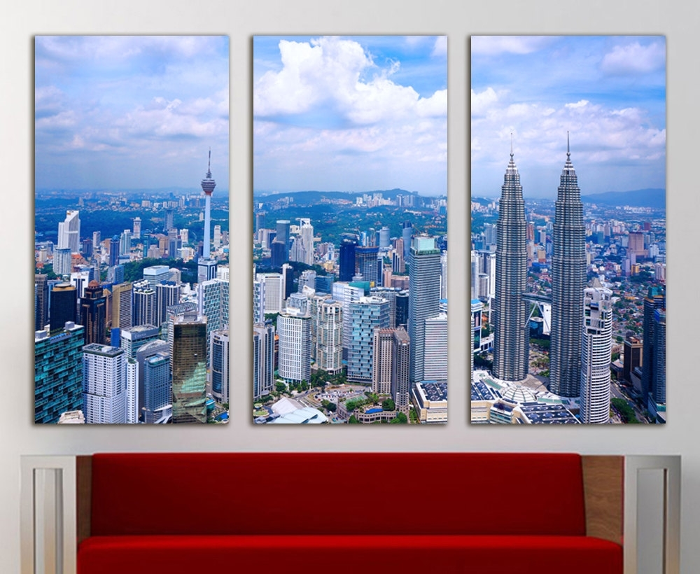 Malaysia Canvas Malaysia Wall Art Malaysia Print Malaysia Wall Intended For Most Current Malaysia Canvas Wall Art (View 7 of 15)