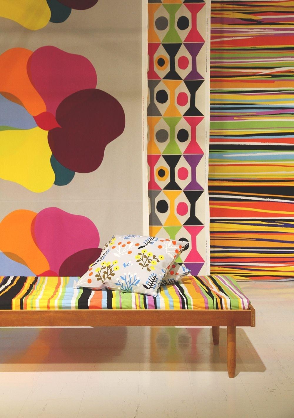 Marimekko Wall Hanging | Marimekko For The House | Pinterest For Latest Marimekko 'karkuteilla' Fabric Wall Art (View 10 of 15)