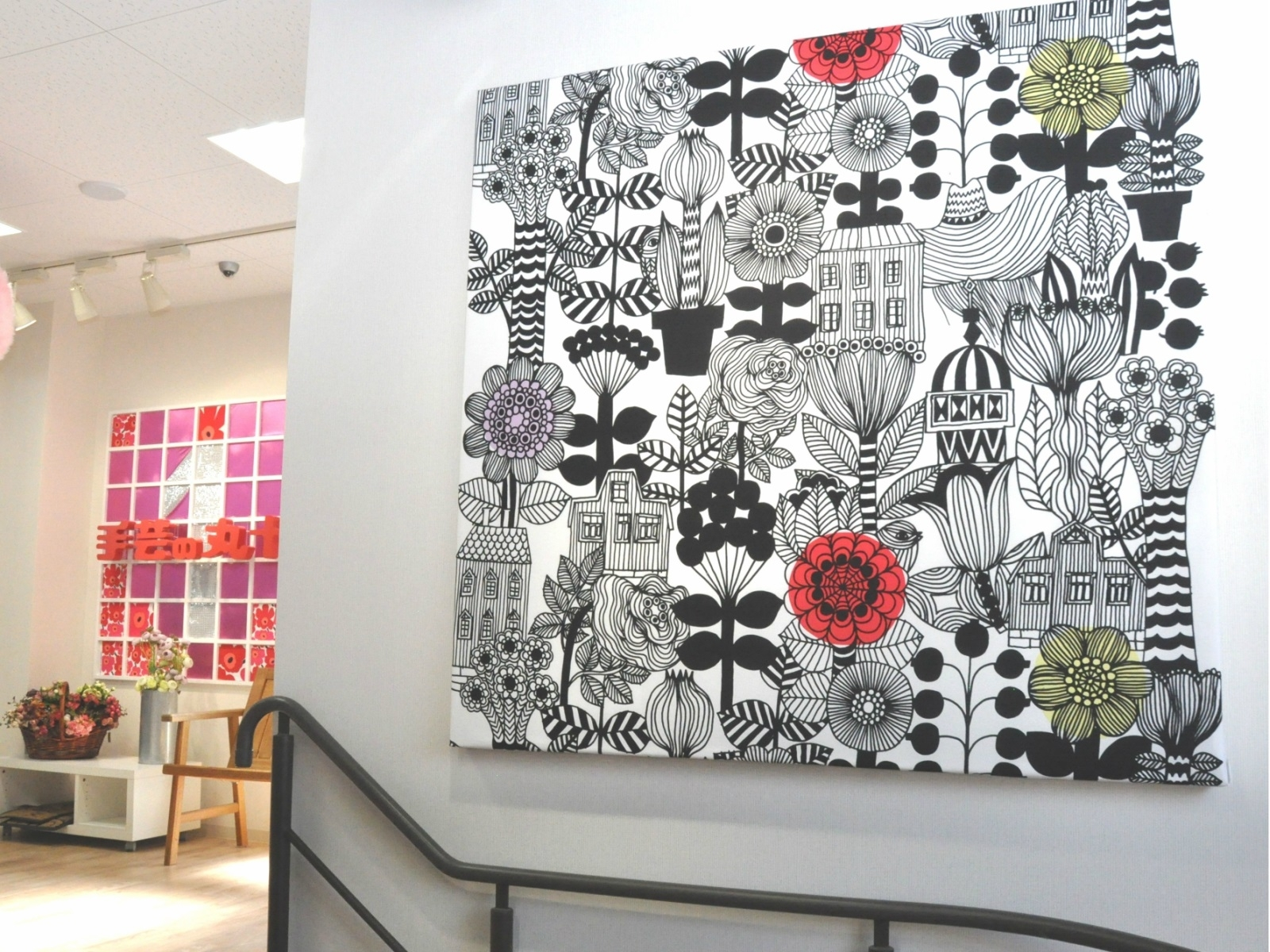 Maru–Jyu | Rakuten Global Market: Scandinavian Fabric And Inside Recent Scandinavian Fabric Wall Art (View 10 of 15)