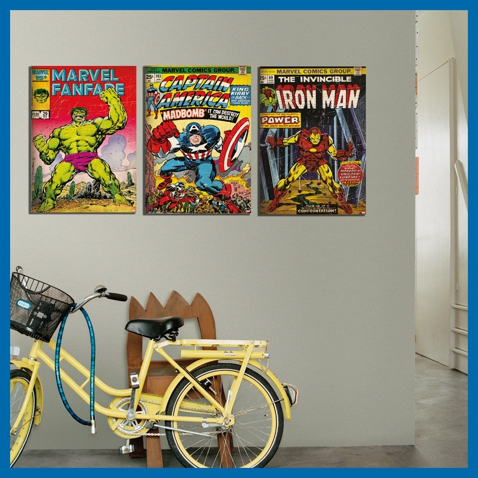 Marvel Has Arrived Intended For Current Marvel Canvas Wall Art (View 4 of 15)