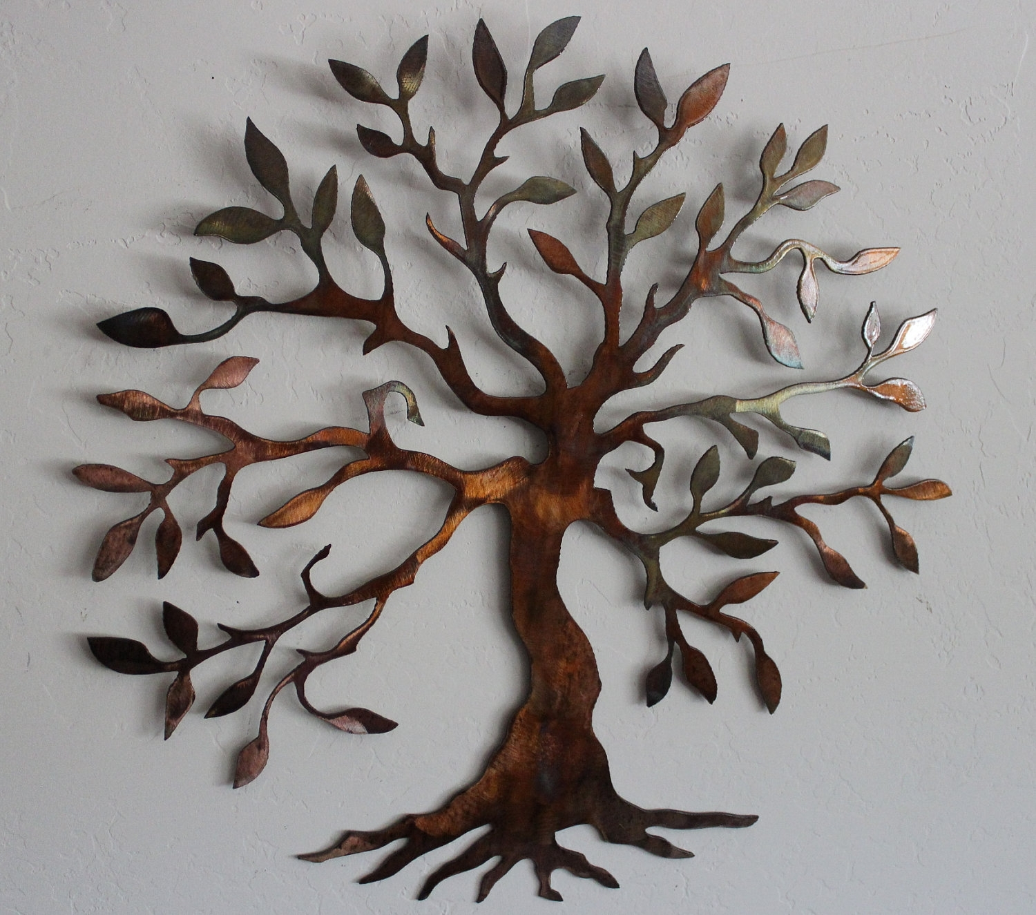 Marvellous Ideas Metal Wall Accents With Olive Tree Of Live Art Throughout Most Up To Date Metal Wall Accents (View 5 of 15)