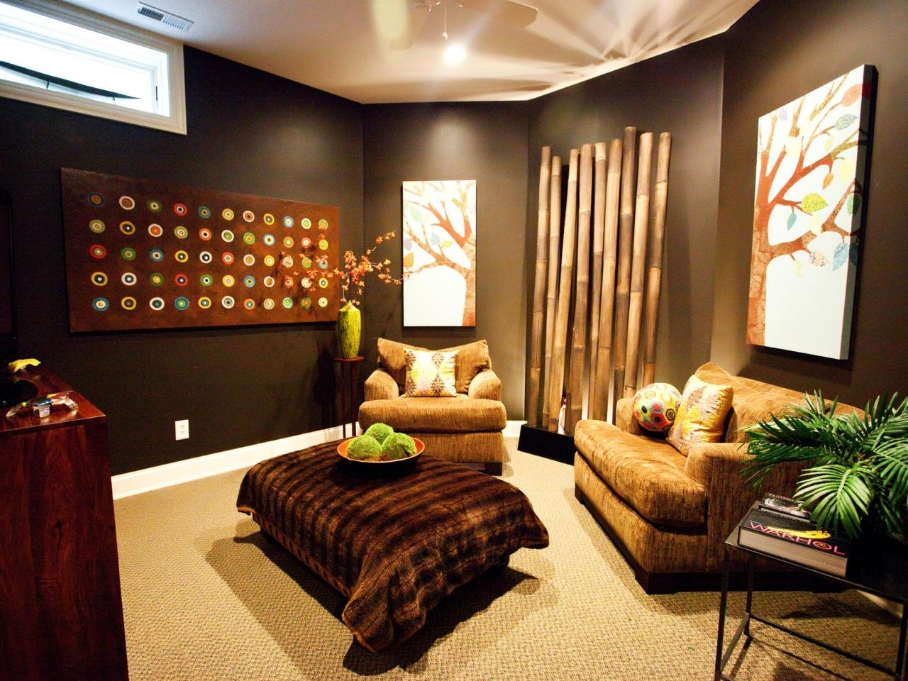 Media Room Decor Ideas At Best Home Design 2018 Tips Intended For Most Popular Wall Accents For Media Room (Gallery 1 of 15)
