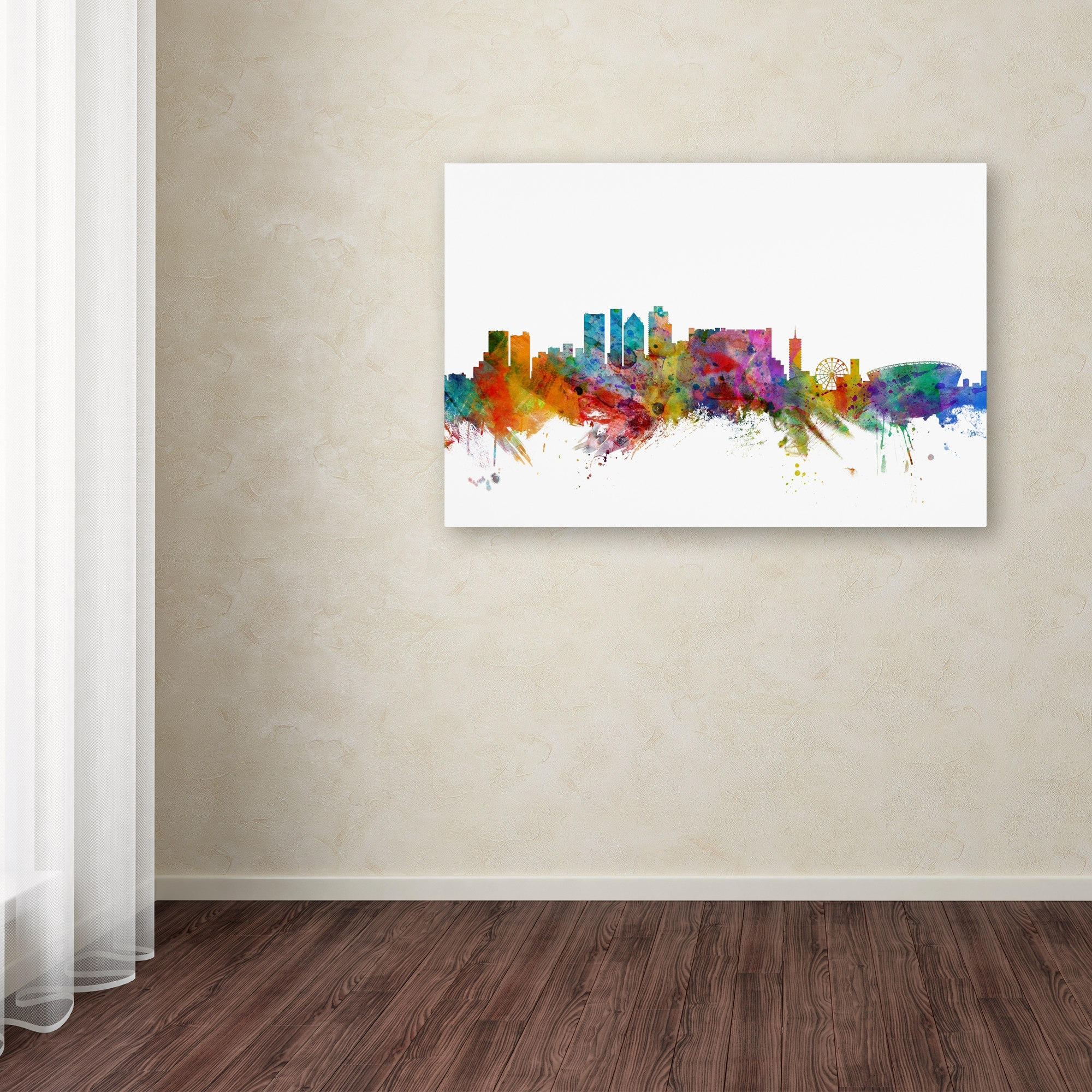 Michael Tompsett 'cape Town South Africa Skyline' Canvas Wall Art Within Latest Cape Town Canvas Wall Art (View 8 of 15)