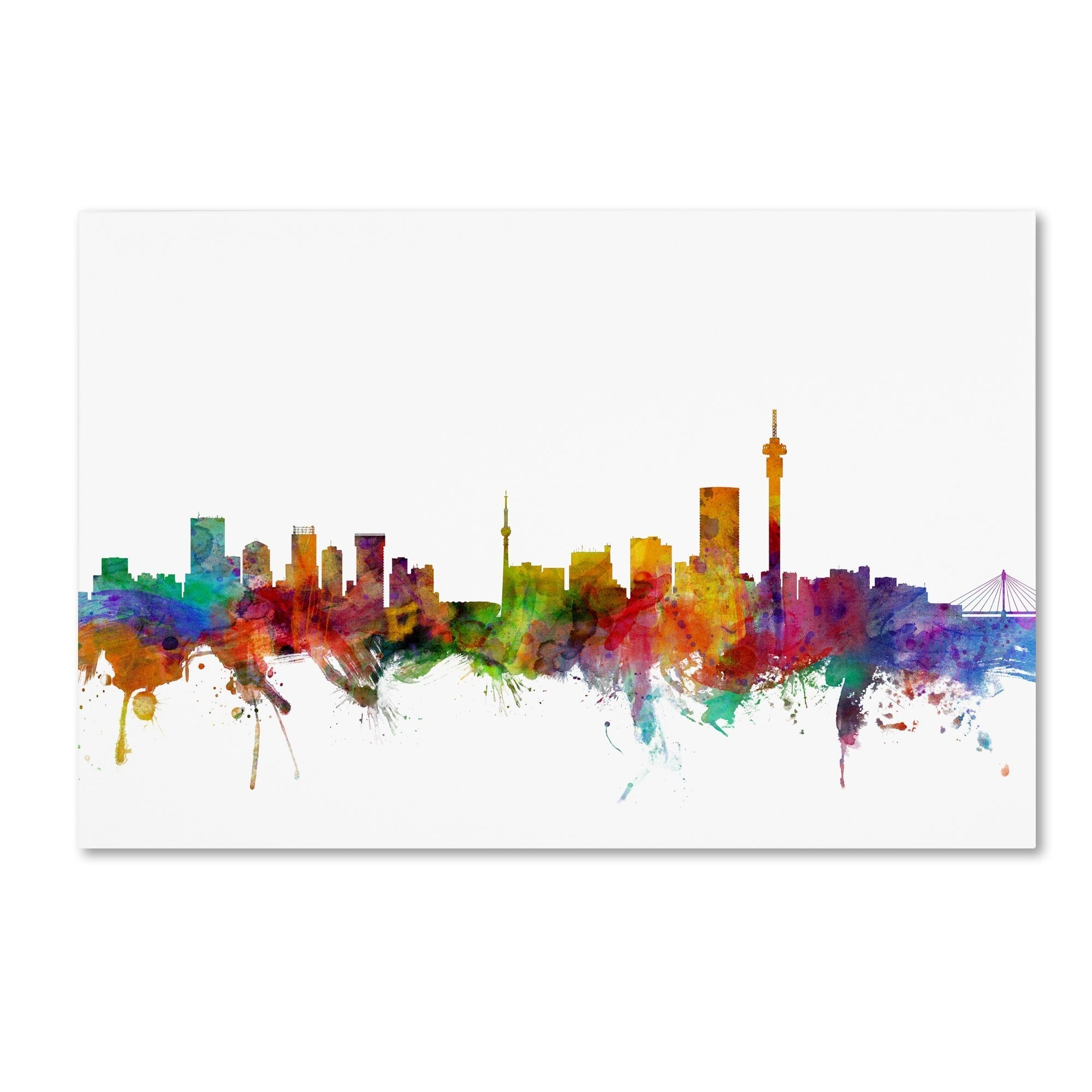 Featured Photo of Johannesburg Canvas Wall Art